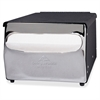 "MorNap Cafeteria Model Napkin Dispenser - Full Fold Dispenser - 255 x Sheet - 5.9"" Height x 7.9"" Width x 11.5"" Depth - Steel - Black"