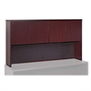 "Lorell Stack-on Storage - 72"" x 14"" x 39"" - Fluted Edge - Material: Hardwood - Finish: Mahogany, Veneer"