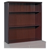 "Stack-on Bookcase - 36"" x 13"" x 39"" - 3 Shelve(s) - Fluted Edge - Material: Hardwood - Finish: Mahogany, Veneer"