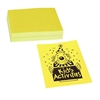 "Neon Bond Paper - Letter - 8.50"" x 11"" - 24 lb Basis Weight - Recycled - 100 / Pack - Yellow"
