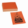 "Neon Bond Paper - Letter - 8.50"" x 11"" - 24 lb Basis Weight - Recycled - 100 / Pack - Orange"