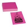 "Neon Bond Paper - Letter - 8.50"" x 11"" - 24 lb Basis Weight - 100 / Pack - Pink"