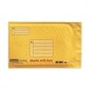 "Super Strong Smart Mailer - Bubble - #0 - 9"" Width x 6"" Length - Self-sealing - Plastic - 1 / Each - Manila"