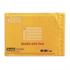 "Scotch Smart Plastic Coated Bubble Mailer - Bubble - #2 - 11"" Width x 8.50"" Length - Self-sealing - Plastic - 1 / Each - Manila"