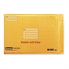 "Scotch Smart Plastic Coated Bubble Mailer - Bubble - #5 - 15"" Width x 10.50"" Length - Self-sealing - Plastic - 1 / Each - Manila"