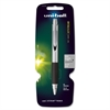 Uni-Ball Jetstream Premier Rollerball Pen - 1 mm Point Size - Black Pigment-based Ink - Black Barrel - 1 Each