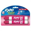 Expo Pink Ribbon Dry-erase Marker Display - Chisel Point Style - Pink - 2 / Pack
