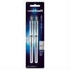 Uni-Ball Vision Elite Rollerball Pens - Bold Point Type - 0.8 mm Point Size - Black - 2 / Pack