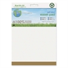 "MasterVision Earth It! Self-stick Easel Pad - 30 Sheets - Plain - 25"" x 30"" - Bright White Paper - Recycled - 2 / Carton"