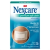 "Nexcare Soft Cloth Premium Adhesive Gauze Pad - 3 Ply - 2.38"" x 3"" - 5/Box - White"