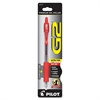 Retractable Gel Ink Pen - Extra Fine Point Type - 0.5 mm Point Size - Point Point Style - Refillable - Red Gel-based Ink - 1 / Pack