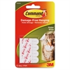 "Command Adhesive Poster Strip Value Pack - 0.63"" Width x 2.13"" Length - Removable - 48 / Pack - White"