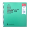 "Dome Tax Deductions File - 11"" x 9.75"" Sheet Size - Recycled - 1 Each"