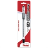 R.S.V.P Ballpoint Stick Pen - Fine Point Type - 0.7 mm Point Size - Refillable - Black - Clear Barrel - 1 / Pack