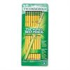 Soft Pencil - #2 Lead Degree (Hardness) - Black Lead - Yellow Barrel - 10 / Pack