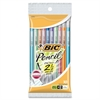 BIC .7mm Mechanical Pencils with Lead - #2 Lead - 0.7 mm Lead Diameter - Assorted Barrel - 10 / Pack