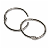 "CLI 1.5"" Diameter Multipurpose Book Ring - 1.5"" Diameter - Round - Silver - Steel - 100 / Box"
