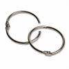 "CLI 1.5"" Diameter Multipurpose Book Ring - 1.5"" Diameter - Round - Silver - Steel - 100 / Box"