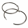 "CLI Multipurpose Book Rings - 3"" Diameter - Round - Silver - Steel - 10 / Box"