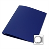"Samsill 28-Gauge Poly 3-Ring Binder - 1"" Binder Capacity - Letter - 8 1/2"" x 11"" Sheet Size - 3 x Round Ring Fastener(s) - Poly - Blue - 1 / Each"