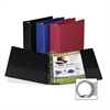 "Value Storage Ring Binder - 2"" Binder Capacity - Letter - 8 1/2"" x 11"" Sheet Size - 400 Sheet Capacity - 3 x Round Ring Fastener(s) - 2 Internal Pocket(s) - Vinyl - Assorted - Recycled - 1 Eac"