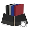"""Samsill Value Ring Binder - 1"""" Binder Capacity - Letter - 8 1/2"""" x 11"""" Sheet Size - 3 x Round Ring Fastener(s) - 2 Internal Pocket(s) - Vinyl - Assorted - Recycled - 1 / Each"""