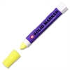 Sakura of America Solid Paint Marker - 13 mm Point Size - Fluorescent Lemon - Plastic Barrel - 1 Each