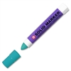 Solid Paint Marker - 13 mm Point Size - Green - Plastic Barrel - 1 Each