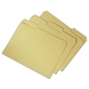 "SKILCRAFT Recycled Double-ply Top Tab File Folder - Letter - 8 1/2"" x 11"" Sheet Size - 3/4"" Expansion - 1/3 Tab Cut - Assorted Position Tab Location - 11 pt. Folder Thickness - Yellow - Recycled - 100"
