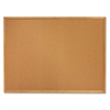 "SKILCRAFT Bulletin Board - 18"" x 24"" - Cork Surface - Oak Frame"