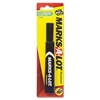 Avery Marks-A-Lot Permanent Marker - Chisel Point Style - Black - Black Barrel - 1 / Pack