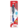 Pentel Side FX PD257 Mechanical Pencil - 0.7 mm Lead Diameter - Refillable - Blue Barrel - 1 / Pack