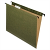 "Reinforced Hanging Folder - Legal - 8 1/2"" x 14"" Sheet Size - 1/5 Tab Cut - Green - 20 / Box"
