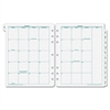 "Franklin Covey Original Monarch Monthly Tab - Julian - Monthly - 1 Year - January 2017 till December 2017 - 1 Month Double Page Layout - 8.50"" x 11"" - 7-ring - Paper - Tabbed"
