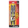 FriXion Ball Gel Pen - Fine Point Type - 0.7 mm Point Size - Blue Gel-based Ink - Blue Barrel - 2 / Pack
