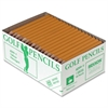 Golf Pencil - #2 Lead Degree (Hardness) - Yellow Wood Barrel - 144 / Box
