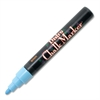 Marvy Bistro Chalk Marker - 6 mm Point Size - Fluorescent Blue Water Based Ink - 1 Each