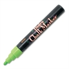Bistro Chalk Marker - 6 mm Point Size - Fluorescent Green Water Based Ink - 1 Each