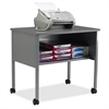 "Eastwinds 2140CAGRYGRY Printer Stand - 200 lb Load Capacity - 1 x Shelf(ves) - 26.5"" Height x 30"" Width x 21"" Depth - Floor - Laminate - Steel, Thermofoil, Polyvinyl Chloride (PVC) - Gray, Dov"