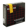 "Kleer-Fax 1/5 Cut Hanging Folder Tab - 25 Tab(s) x 2"" Tab Width - Yellow - 25 / Pack"