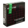"Kleer-Fax 1/5 Cut Hanging Folder Tab - 25 Tab(s) x 2"" Tab Width - Green - 25 / Pack"
