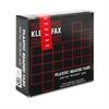 "Kleer-Fax 1/5 Cut Hanging Folder Tab - 25 Tab(s) x 2"" Tab Width - Red - 25 / Pack"