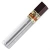 Pentel Super Hi-Polymer Lead Refill - 0.3 mmExtra Fine Point - B - Hard - Black - 12 / Tub