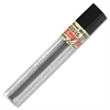 Pentel Super Hi-Polymer Lead Refill - 0.5 mmFine Point - 3H - Hard - Black - 12 / Tub