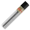 Pentel Super Hi-Polymer Lead Refill - 0.5 mmFine Point - 4B - Hard - Black - 12 / Tub