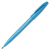Pentel Sign Pen Porous Point Pen - Fine Point Type - Sky Blue Water Based Ink - 1 / Each