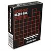 """Kleer-Fax Plastic 1/3 Cut Hanging Folder Tabs - Blank Tab(s)3.50"""" Tab Width - Clear Plastic Tab(s) - 25 / Box"""