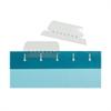 "Kleer-Fax Hanging File Folder Tab - Blank Tab(s)2"" Tab Width - Clear Tab(s) - 25 / Box"