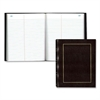 "Law Record Book - 150 Sheet(s) - Thread Sewn - 9.75"" x 8"" Sheet Size - White Sheet(s) - Burgundy Cover - Recycled - 1 Each"