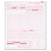 "TOPS UB-04 Hospital Claim Form - 1 Part - 11"" x 9.50"" Form Size - Red Print Color - 2500 / Carton"